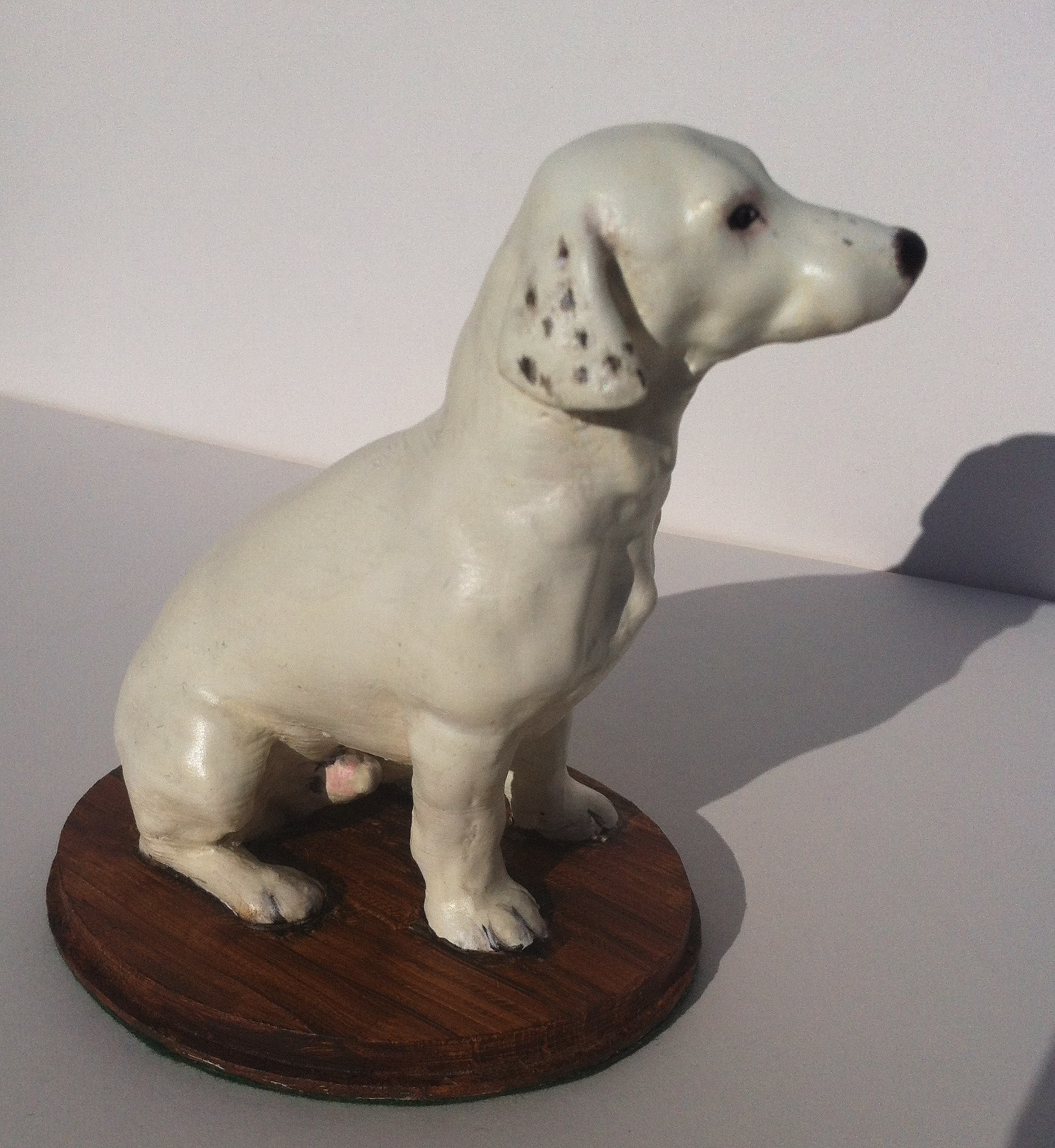 3D Printed Dog Sculpture Pip