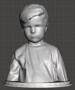 3D Scan Portrait