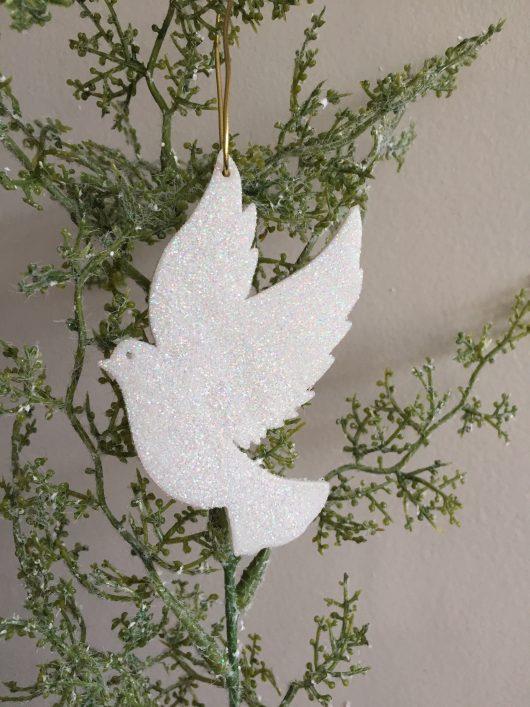 Dove christmas decoration