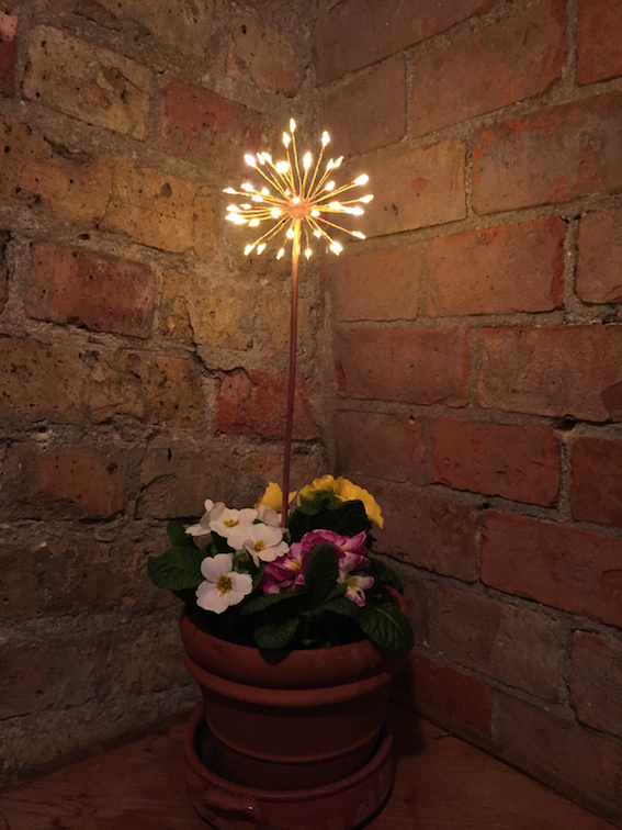 Mini Allium Battery LED light