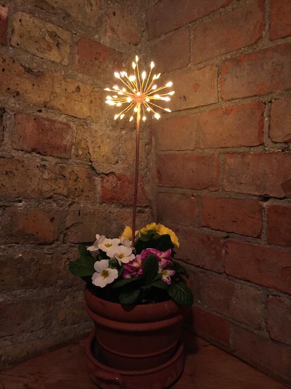 Mini Allium Battery LED light