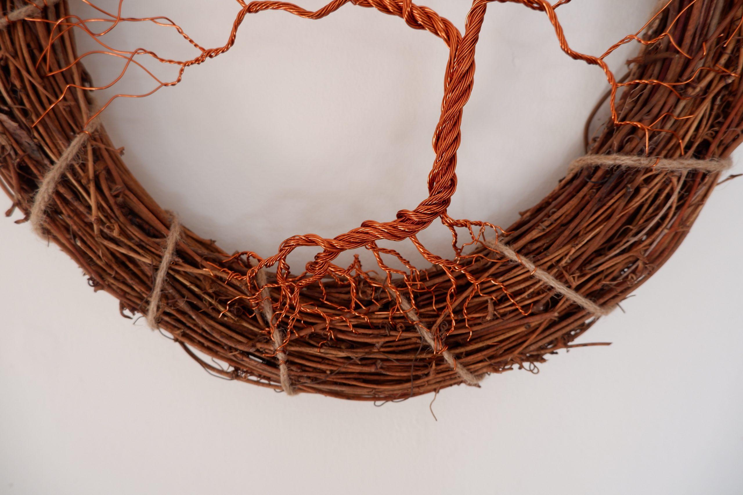 Wreath for door or wall